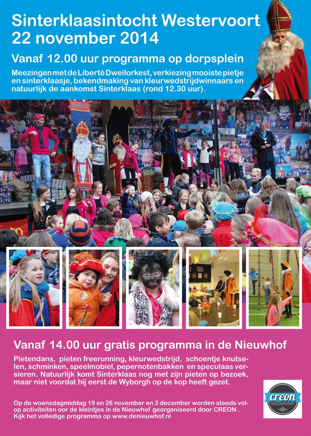 Intocht Sinterklaas Westervoort Duivenplaza Nl