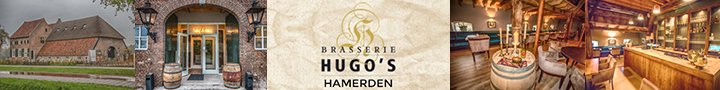 Brasserie Hugos banner