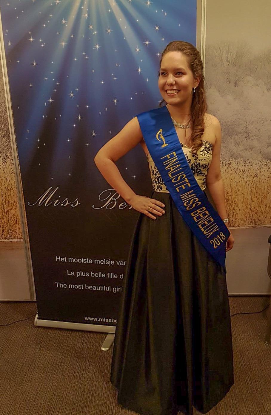 36b141fd53b548 Westervoortse Maureen Paul finaliste Miss BeNeLux 2018