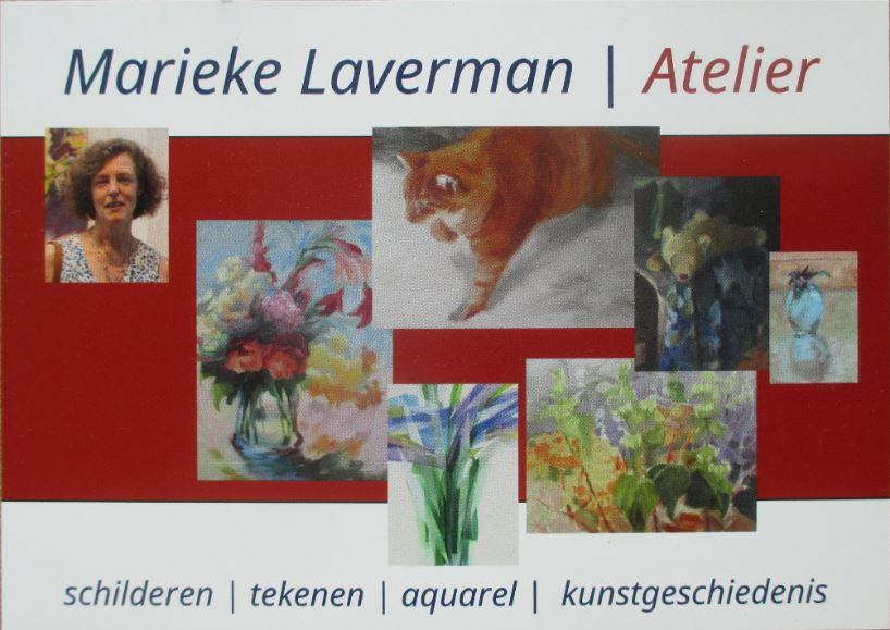 Nieuwe lessen en workshops bij Marieke Laverman|Atelier