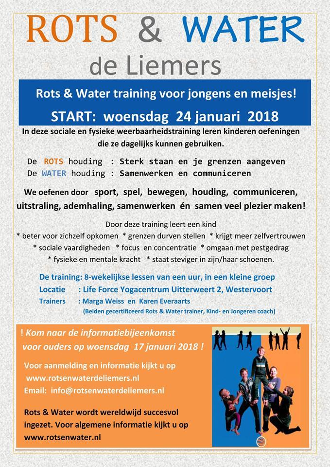Rots Water.Rots Water De Liemers Start In Januari Weer Met De