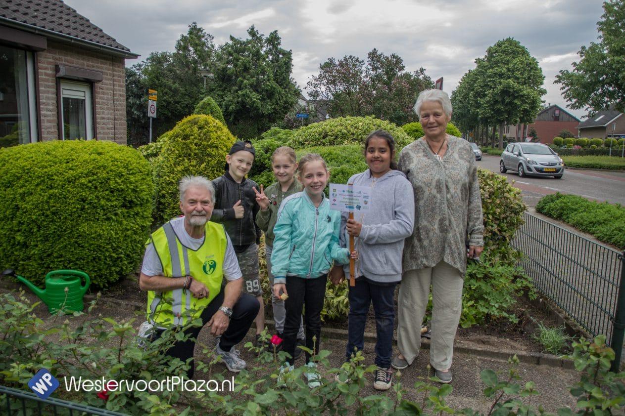 Greenkids in actie voor ouderen