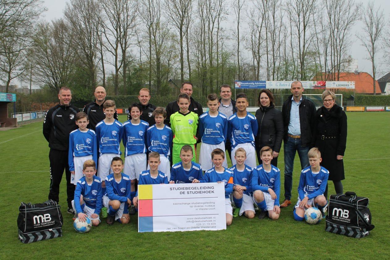 JO-13-1 van Sc Westervoort doet mee met toernooi in Denemarken