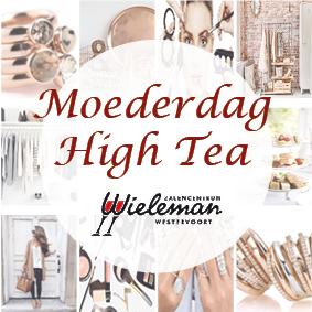 Moederdag high tea bij Wieleman afgelast