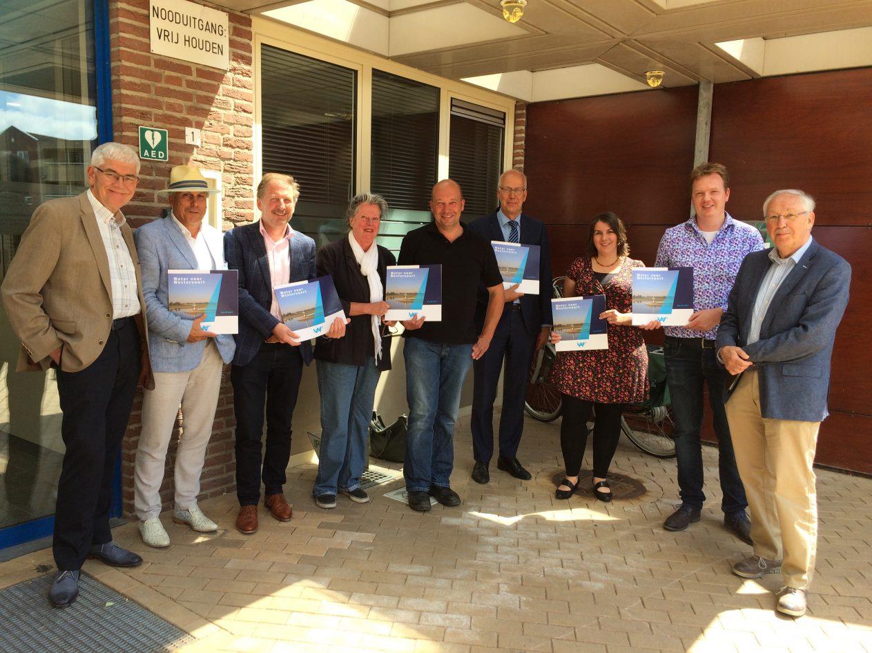 Burgerprojectgroep Water voor Westervoort presenteert plannen