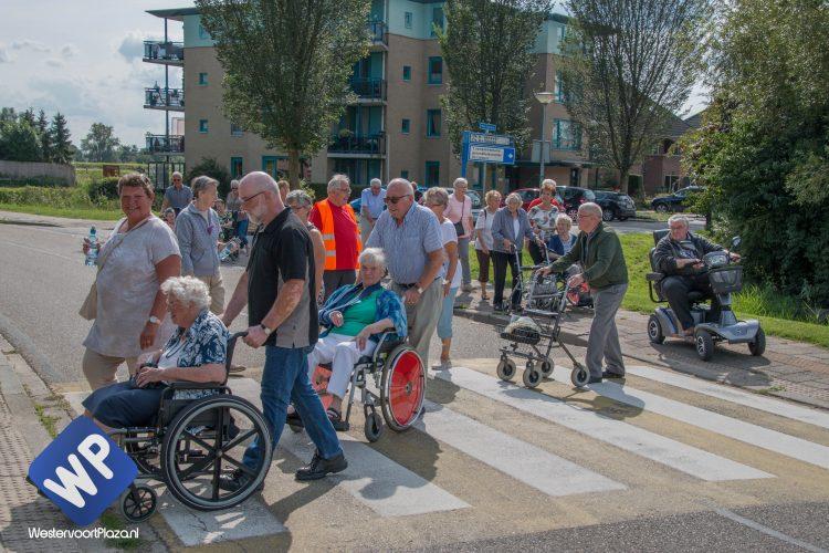 Senioren wandel 3 daagse in Westervoort