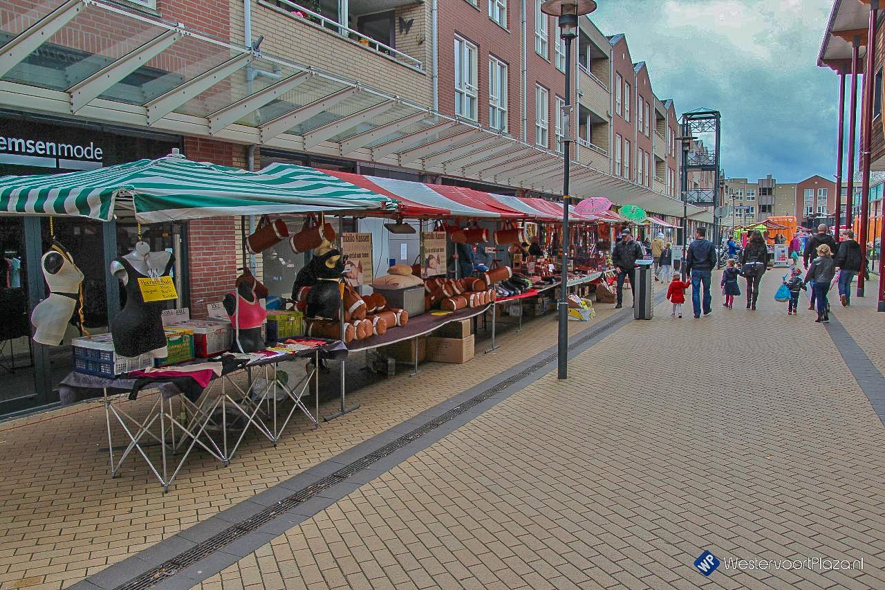 Najaarsmarkt op Winkelcentrum de Wyborgh