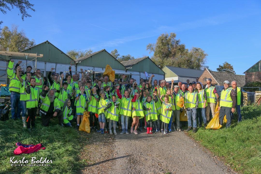Rijnjutters steken zaterdag 26 oktober hun handen uit de mouwen  in de gemeenten Duiven en Westervoort