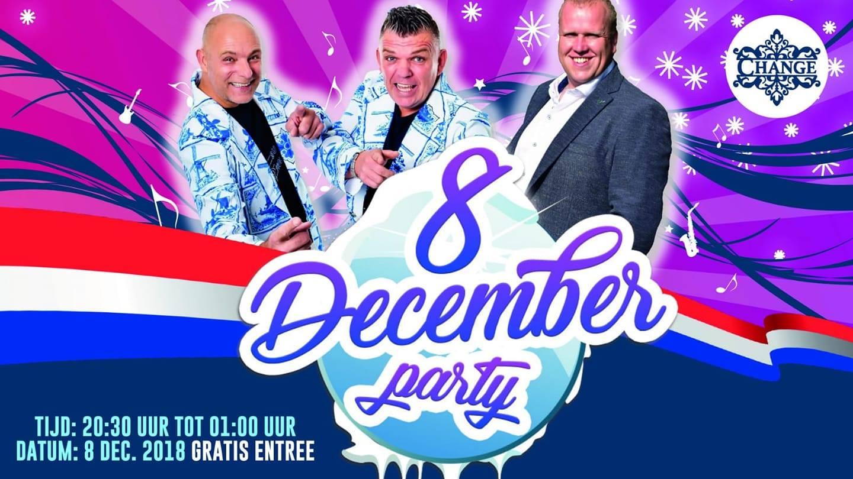 8 december party bij cafe/bar Change