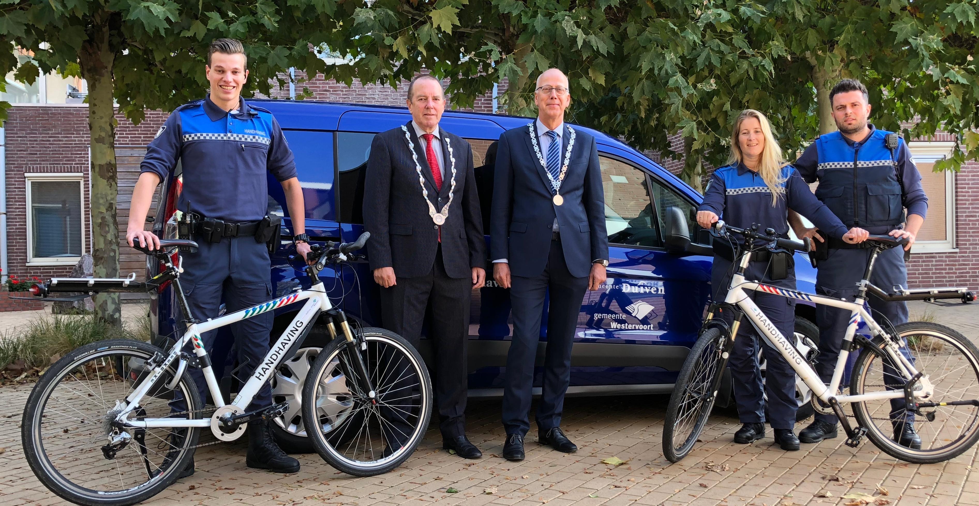 Het boa-team van de gemeenten Duiven en Westervoort
