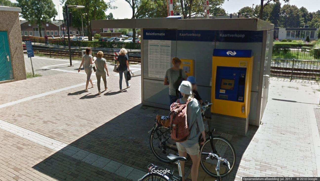 Mini Service Station met toilet bij station in Westervoort
