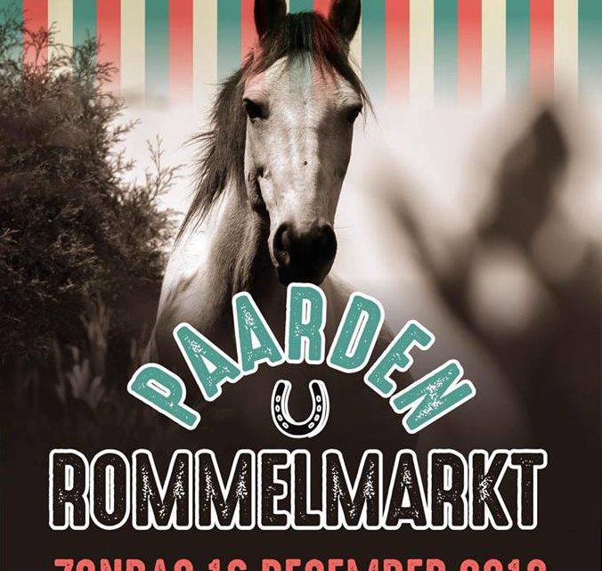 Paardenrommelmarkt bij De Nijgraaf in Westervoort