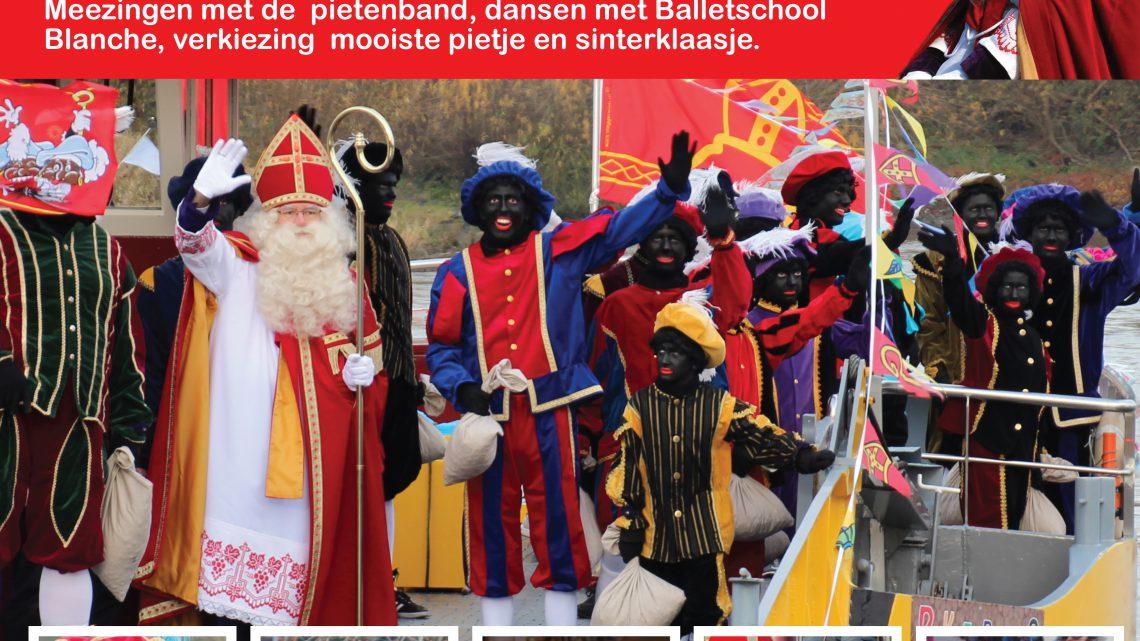 Intocht Sinterklaas Westervoort op zaterdag 24 november