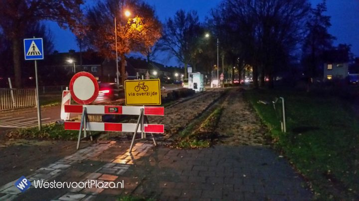 Vernieuwing fietspaden langs Rivierweg