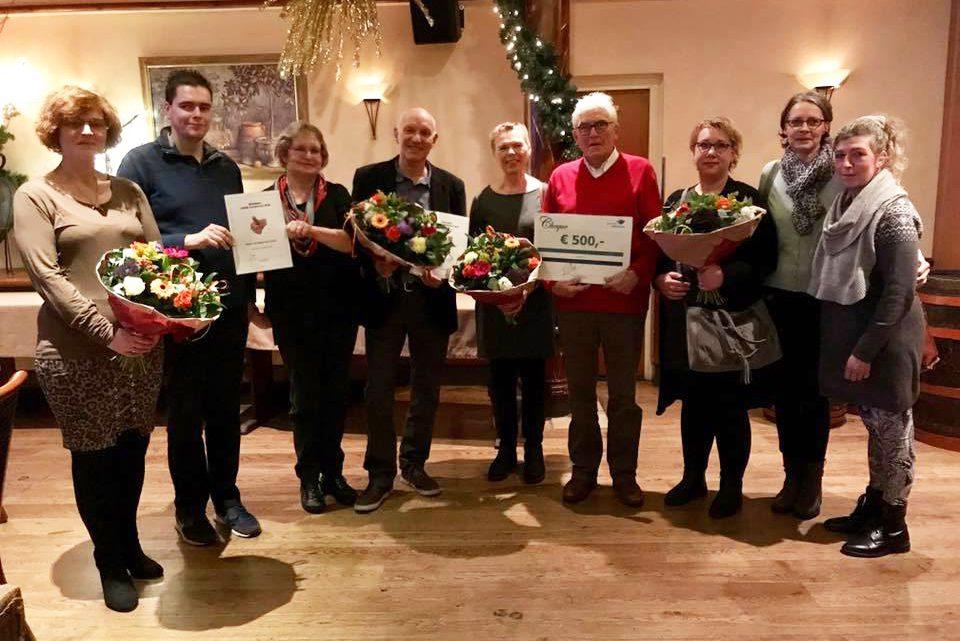Stichting Kerstontmoeting Duiven en Westervoort wint vrijwilligersprijs Westervoort