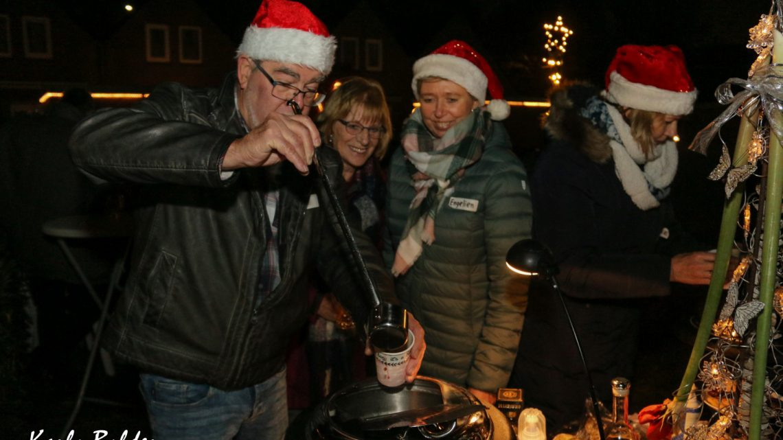 Gluhweinavond voor bewoners Heilweg/Vicarije