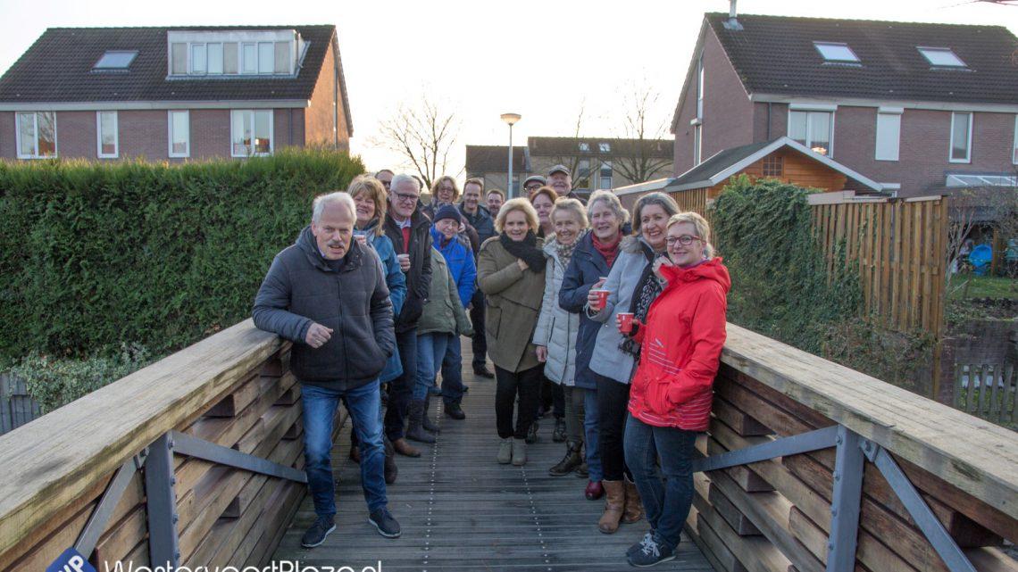 Officiële opening watergang rondom Klapstraat/de Geer/het Gilde