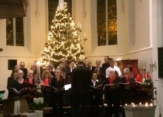 Kerstnachtdienst in de Werenfriedkerk