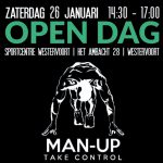 Open dag bij Man-Up