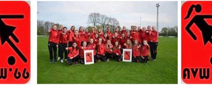 AVW '66 vrouwen-meiden voetbal gaat zelfstandig door