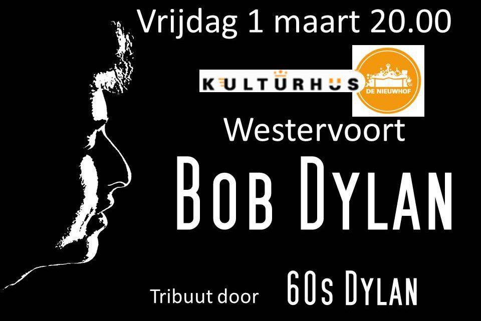 60s Dylan tribute concert in de Nieuwhof!