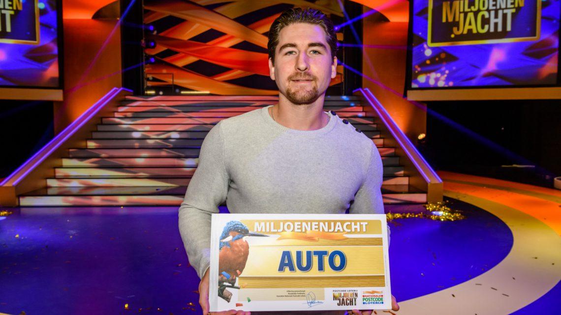 Dennis uit Westervoort wint gloednieuwe auto in tv-show Miljoenenjacht