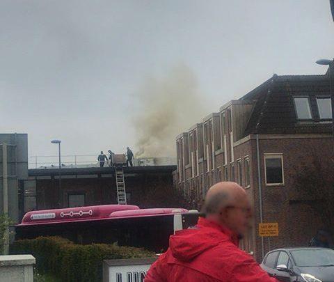 Brand bij bibliotheek Westervoort