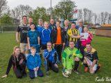 Sinterklaasvereniging Brimata overhandigt cheque aan G-jeugd van Sc. Westervoort