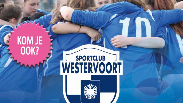 Open training meiden-/vrouwenvoetbal sc Westervoort