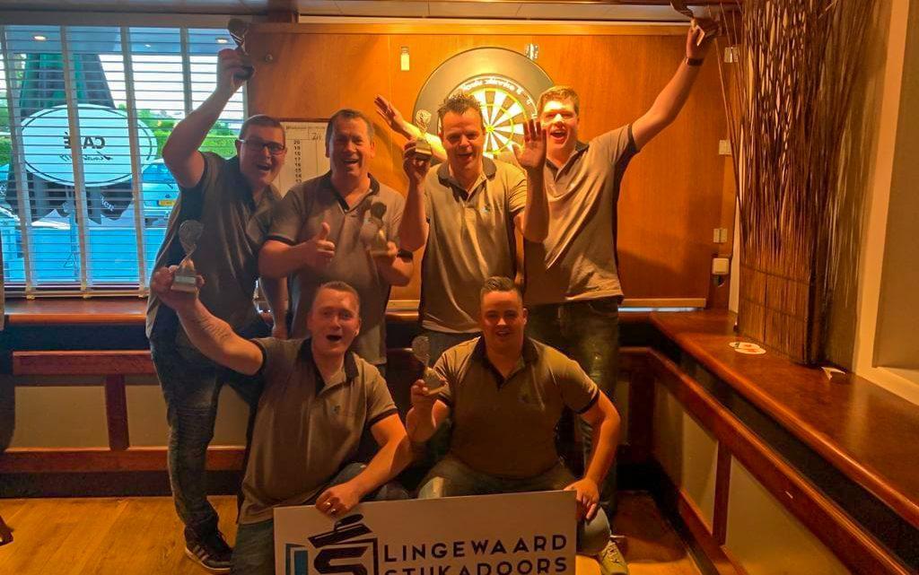 Dartteam Madhouse Henkies kampioen in de 3e divisie