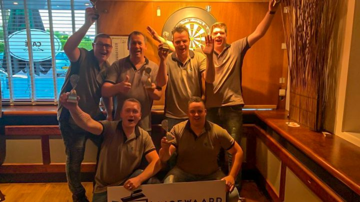 Dartteam Madhouse Henkies kampioen in de 3e divisie