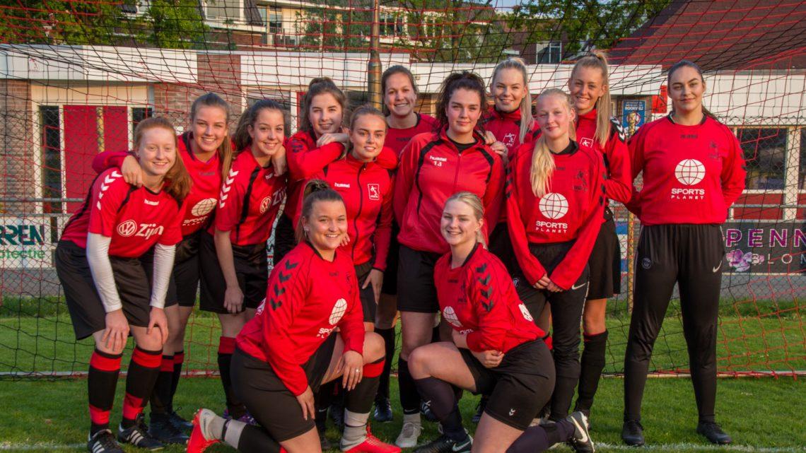 Avw'66 presenteert nieuwe dames 1 elftal