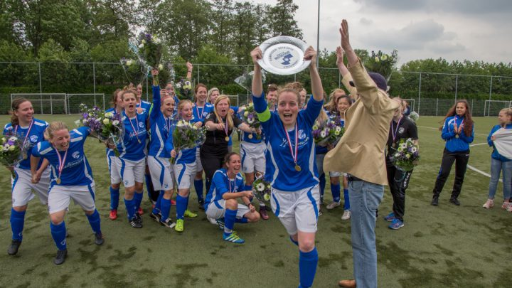 Sc Westervoort Vr 1 pakt kampioenstitel