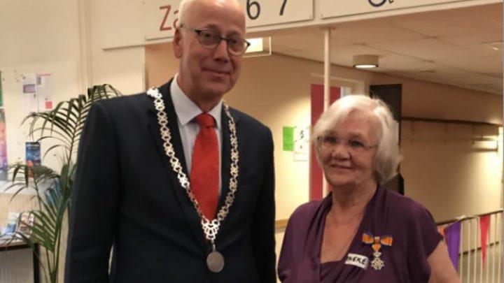 Koninklijke Onderscheiding voor mevrouw Ineke Edelbroek-Vos