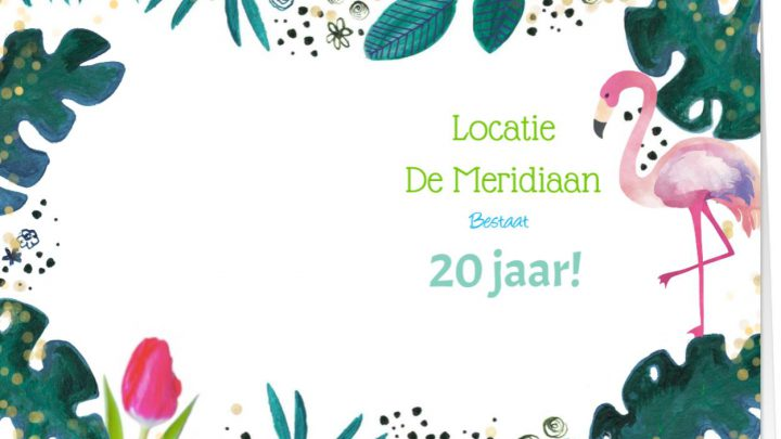 De Meridiaan in Westervoort bestaat 20 jaar.