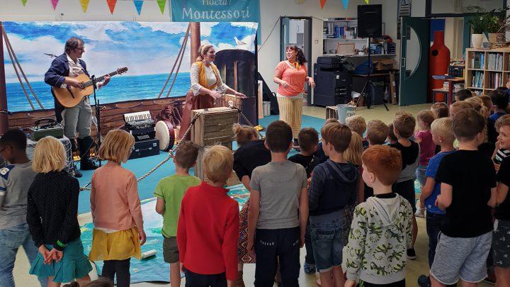 12,5 jarig bestaan Montessori Kindcentrum Westervoort en 10 jaar DaVinci