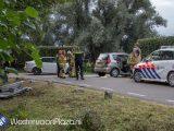 Vijf gewonden op de IJsseldijk in Westervoort bij frontale botsing