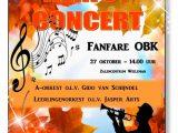 Herfstconcert fanfare OBK
