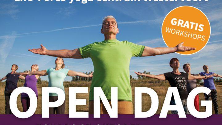Open Dag met gratis workshops bij Life-Force Yoga in Westervoort