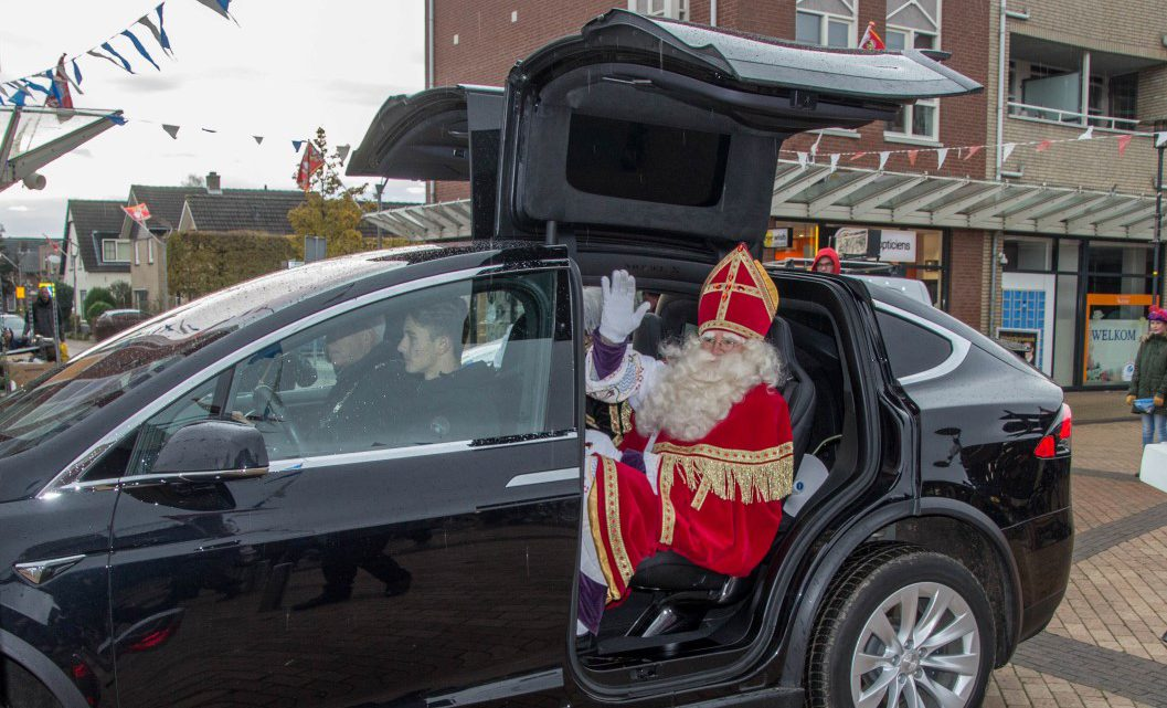 Sinterklaas dankzij milieubesparende maatregelen in Westervoort aangekomen