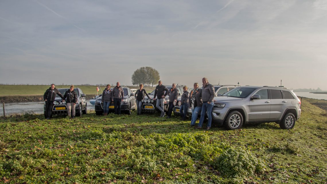 5 teams uit Westervoort rijden met de ScanCoverytrial de kou in