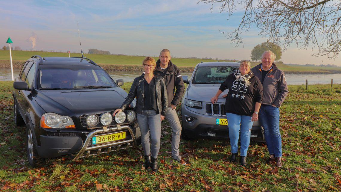 2 Westervoortse teams rijden naar scandinavië voor een vakantie voor gezin uit Westervoort