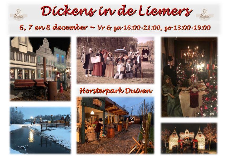 6, 7 en 8 december 2019 Dickens in de Liemers