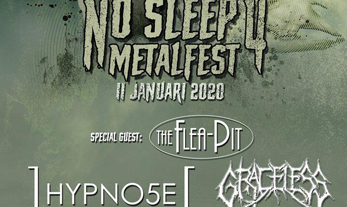 """voor de 4e keer """"No Sleep Metalfest"""""""