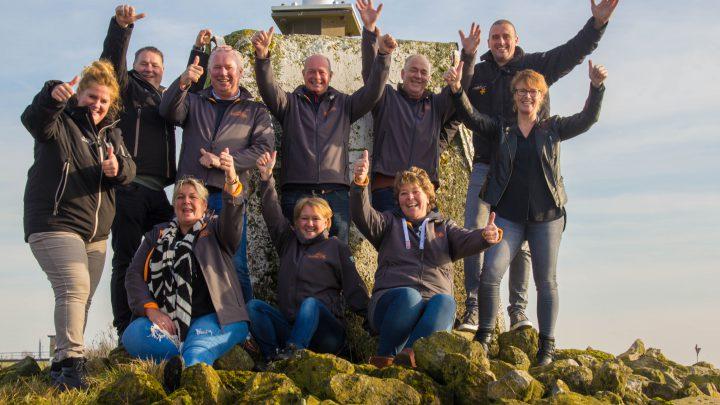 Uitzwaaimoment voor de 5 deelnemende teams uit Westervoort voor de Scan Covery Trial 2020