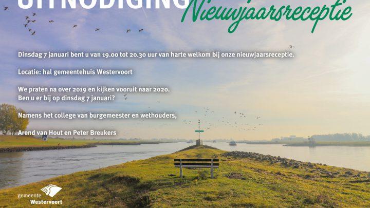 Nieuwjaarsreceptie gemeente Westervoort