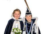 Luuk Streefkerk en Lieke Stevens nieuwe Jeugdprinsenpaar van de Westervoortse carnavalsvereniging De Dolbotters.