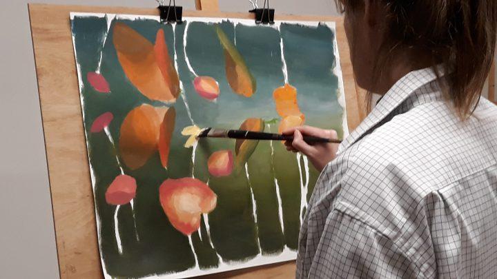 Teken- en schilderlessen bij Marieke Laverman!