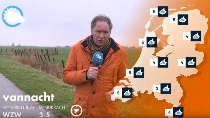 Het weer met Piet Paulusma