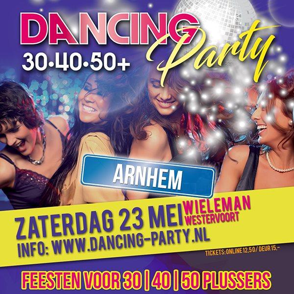 30 40 50 plus Dancing Party